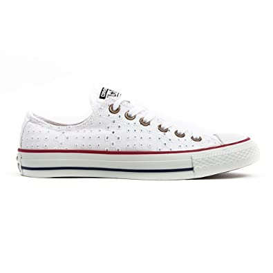converse basse blanche femme taille 36