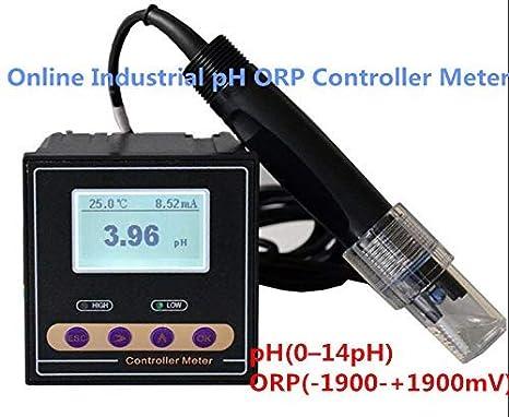 Online Industrial PH ORP Controlador Medidor de Precisión ...