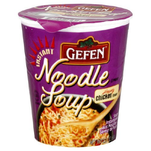 (Gefen Instant Noodle Soup, Hearty Chicken Flavored Soup Cup 2.3oz (12 pack))