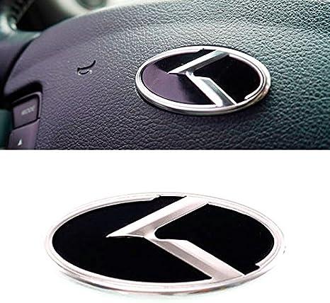 3D K Logo Steering Wheel Horn Cap Emblem Badge For KIA 2011-2015 Optima K5