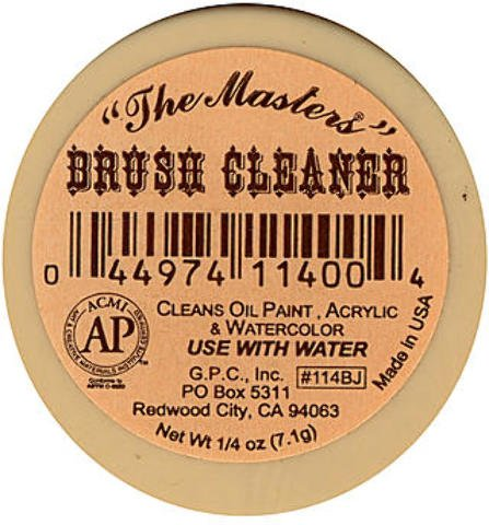 Masters Brush Cleaner and Preserver (1/4 oz.) 4 pcs sku# 1835530MA by Masters