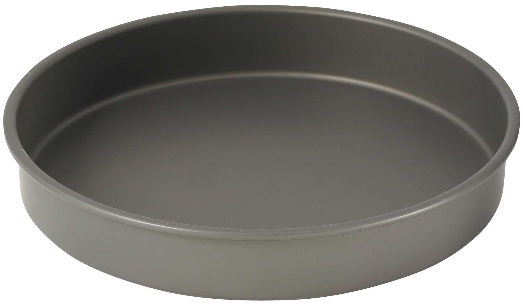 WINCO HAC-122 Round Cake Pan, 12-Inch, Hard Anodized Aluminum