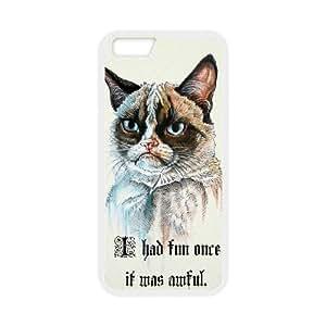 iPhone 6.6S 5.5 Inch Phone Case Grumpy Cat Cartoon R94243