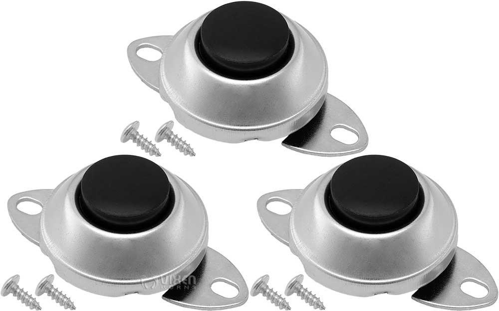 Vixen Horns Universal Horn Button Momentary/Push Switch 12V for Train/Air Horn (3 Pack) VXA7001-3