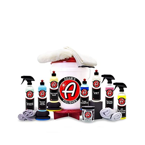 Adam's Essentials Complete Professional Car Detailing Kit (Classic Kit)