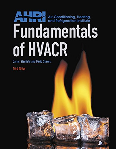 Fundamentals of HVACR (3rd Edition) by Pearson