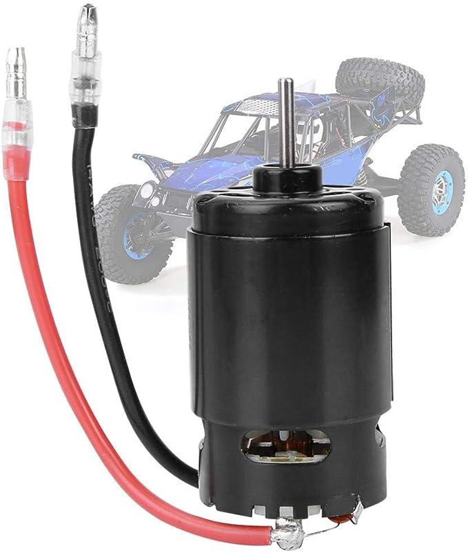 550er Carbon Brushed Motor RC Ersatzteil f/ür 1:10 Modellauto mit Fernbedienung RC Carbon Brushed Motor 12T