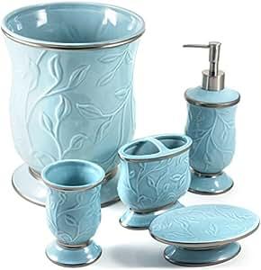 Amazon Com Saturday Knight Ltd Seafoam Blue Ceramic 5