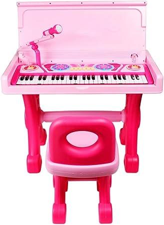 LIUFS-El teclado Escritorio de piano para niños teclado ...
