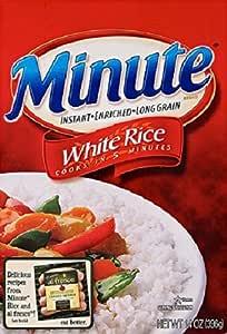 Minute Rice Long Grain White Rice - 14 oz pack of 2