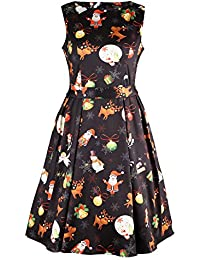 Women's Fit and Flare Cocktail Dress
