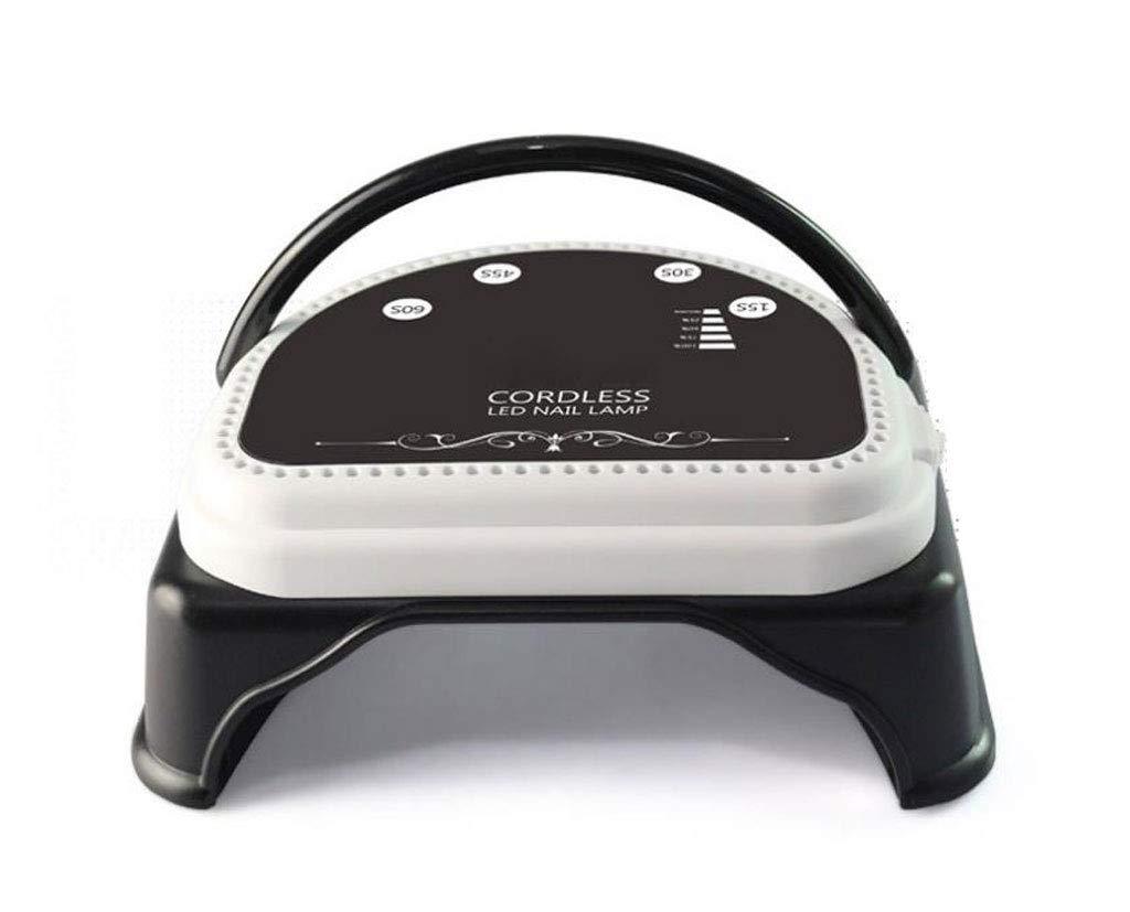 LY-01 Secadores de uñas Secador de uñas Diseño inalámbrico Luz Recargable Terapia de luz portátil Manicura (Color : Negro): Amazon.es: Hogar