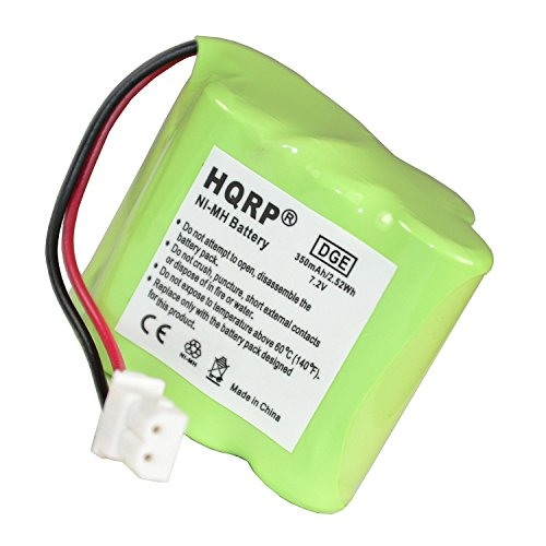 HQRP Transmitter Battery for Dt-Systems DT Good Dog ST 100 Pro, ST 102 Pro, ST 200 Pro, ST 202 Pro, ST 300 Pro, ST 302 Pro Training Collar Transmitter + Coaster