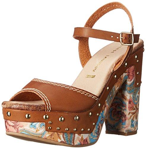 (Chinese Laundry Women's Callista Platform Sandal, Rich Brown,  9 M)