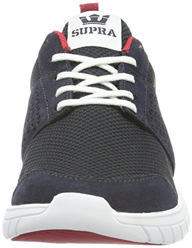 Navy Skate Men's Suede Supra Shoes Scissor 6Uwa6q4