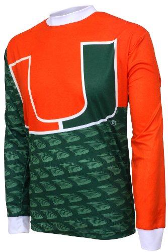 NCAA Miami Hurricanes Mountain Bike Cycling Jersey, Team, Medium