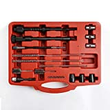 WINTOOLS Injector Seat & Manhole Cleaning Set Seat Cutters Guide Seal Puller Brushes