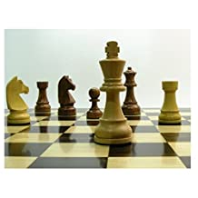 Wooden Classic Staunton Double Weighted Chess Pieces