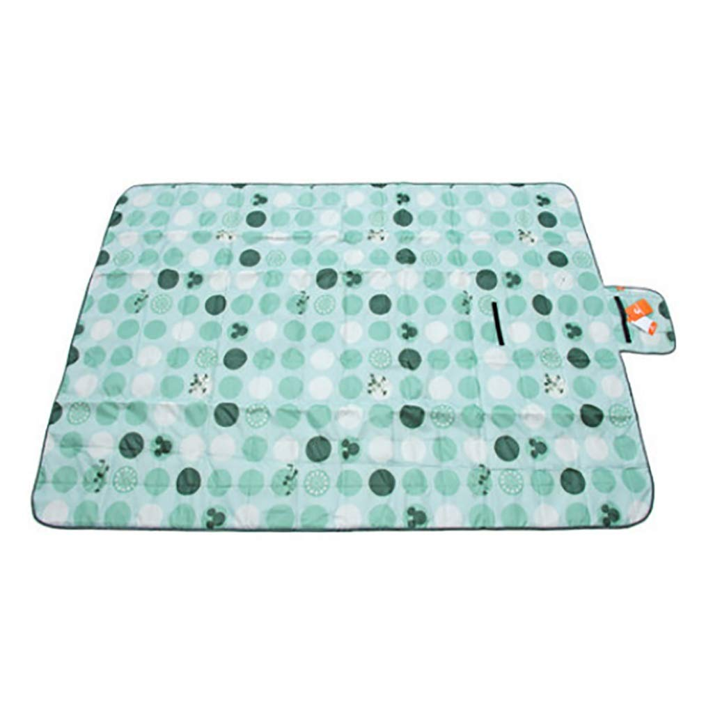 SMSJ-YJ Outdoor Picnic Mat to Increase Portable Padded Waterproof Picnic Mat - Suitable for Picnic/Travel (Color : A)