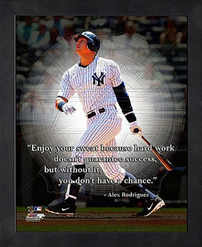 Alex Rodriguez New York Yankees 12X15 Framed Proquote ()
