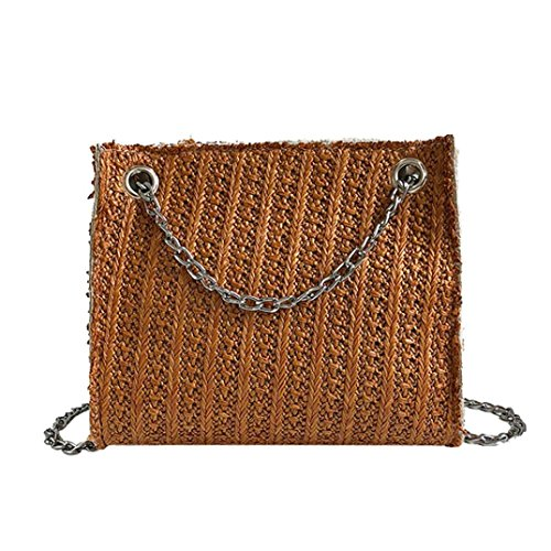 Fashion Evening Party Clutch Crossbody Handbags Straw 2018 Bag Brown Designer Bag Bags Bag Beach Bag Ba Ladies Bags Shoulder Coin Bag Bag Zha Women Fashion Bag Messenger Satchel Purse Handbag pOpFq
