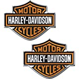 Chroma 5507 Harley-Davidson Domed Emblem Decal