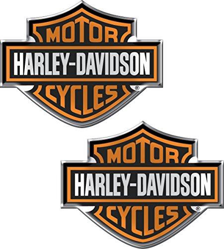 Chroma 5507 Harley-Davidson Domed Emblem Decal (Diesel Harley Davidson)