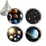 Outer Space Party Favor Stickers, 324 Count