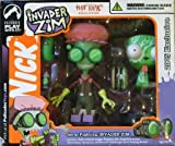 Invader Zim Germ Fighting Invader Zim Hot Topic Exclusive Figure Set