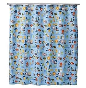 Circo® ABC Alphabet Collection Fabric Shower Curtain