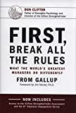 Gallup presents the remarkable findings of its revolutionary study of more than 80,000 managers in First, Break All the Rules, revealing what the world's greatest managers do differently. With vital performance and career lessons and ideas for how to...