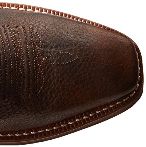 Ariat 2227, Stivali da Cowboy Uomo Brown Oiled Rowdy