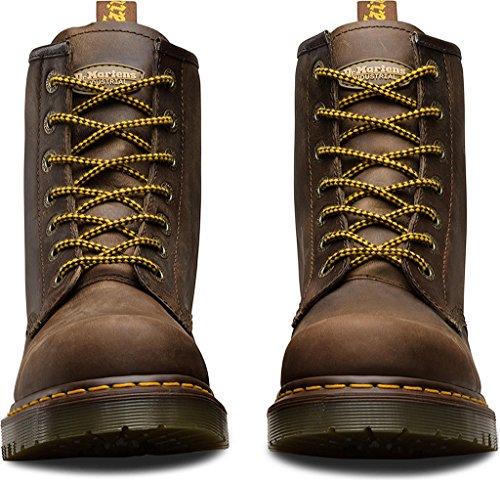 Dr. Martens Unisex 7b10 Antiscivolo Ns 7 Eye Boots In Pelle Azteca