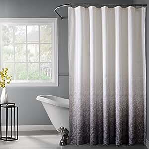 Unique styles bath bliss lace ombre waffle for Bathroom decor amazon