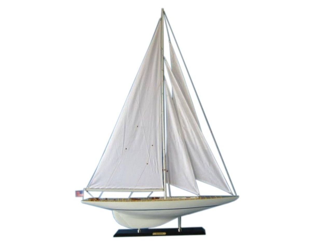 Handcrafted Model Ships Jyacht - 1 - 50 Rainbow Limited 50 in. Tall Sail Boat Decorative Accent B00V3CBO5O