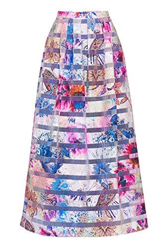 Multicolore 11011416 Mujer Falda fantasia Pennyblack Rosa Para w4HfAq