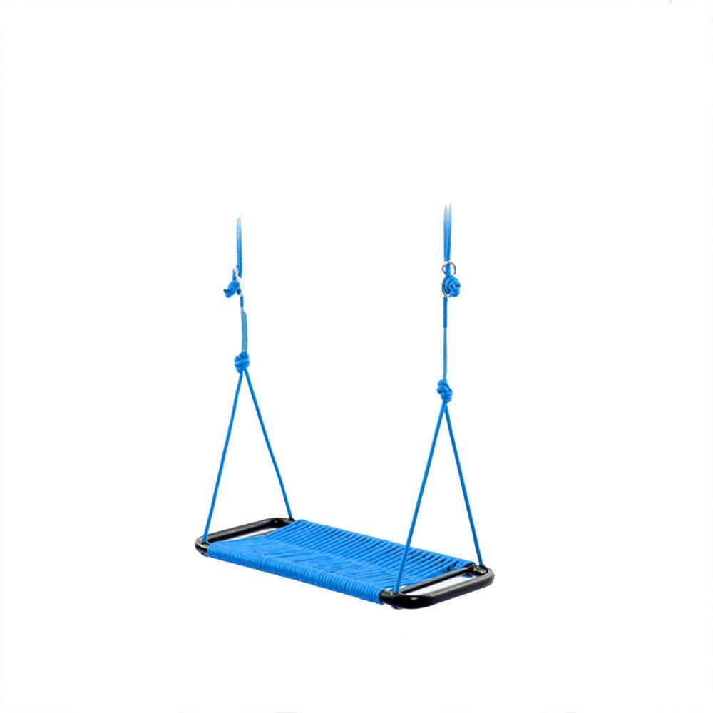 Blau C ZFM Schaukeln Für kKinder, Outdoor Indoor Garten Kinderschaukel Umweltfreundlich Wasserdicht Dauerhaft Sicherheit Schaukeln,Blau,C