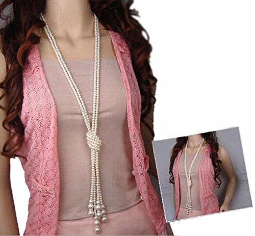 yueton Artificial Necklace Clothing Accessories