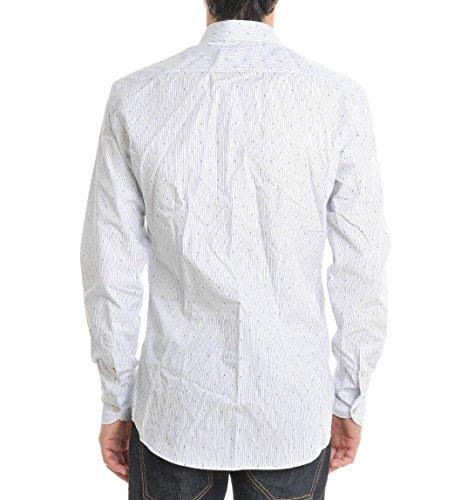 29-Twentynine Camicia Uomo E15208NEV208FC Cotone Azzurro/Bianco
