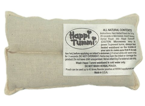 Happi Tummi Baby Colic Gas Relief Remedy-Herbal Refill Pack - incensecentral.us