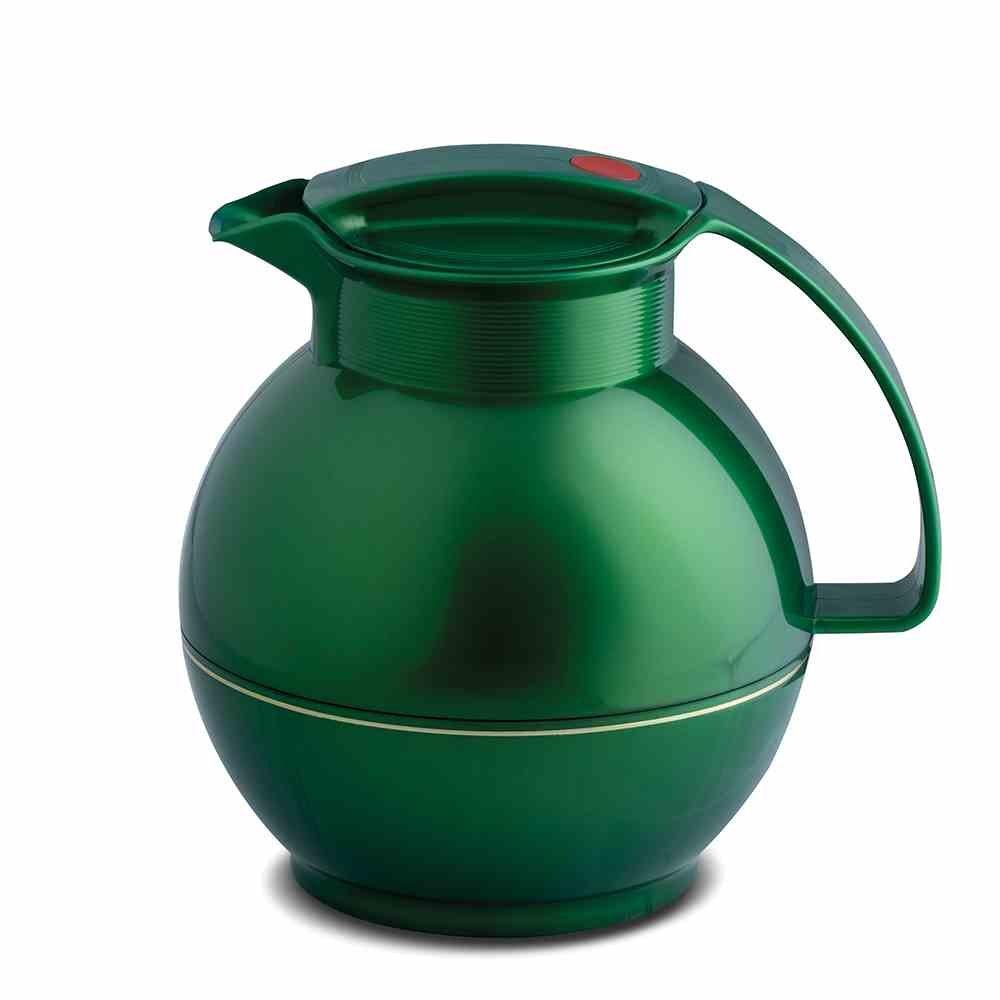 Rotpunkt Thermal Jug 1Litre Shiny Jade, Plastic, Green, 17x 17x 19.7cm