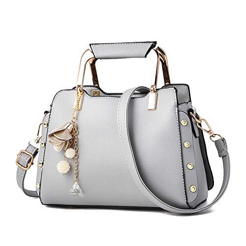 sac mode sac femmes à main gris Mme sac Messenger sacs à bandoulière LANDONA sac coréenne sauvage nouveau à de main occasionnel 8UBFtUqn