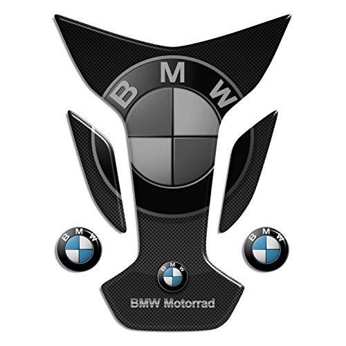 Tankpad Motorad Draht Muster Tankschutz ' BMW mod Flügel 13x17, 5 '' Polymer 3D 5 '' Polymer 3D
