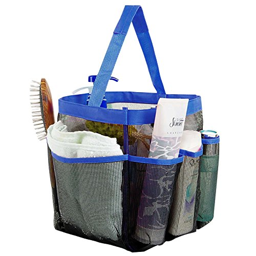 shower-tote-iwotou-8-pockets-high-capacity-quick-dry-hanging-mesh-bath-toiletry-shampoo-soap-organiz