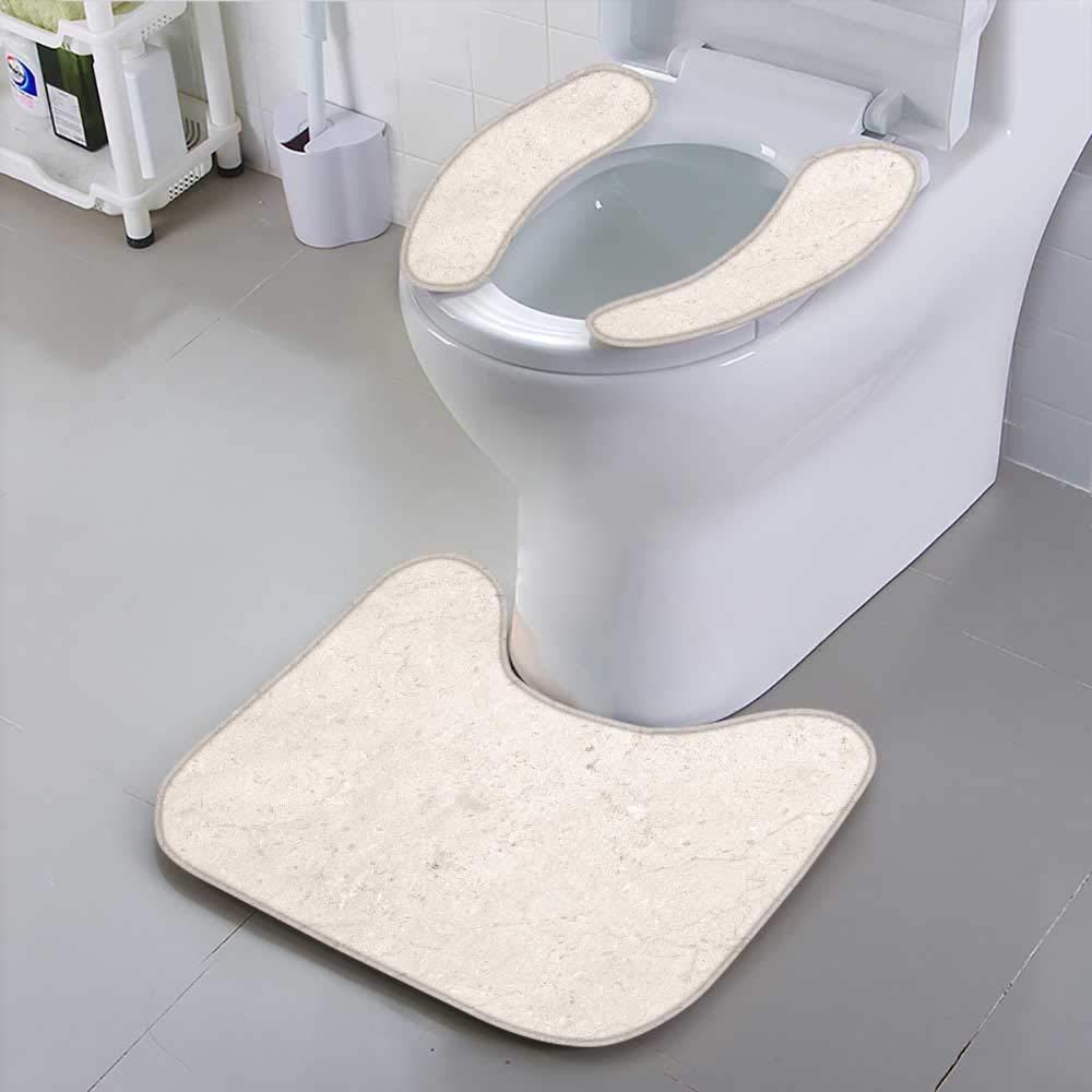 Jiahonghome Use The Toilet seat Stone Marble Background Texture Tiles Non-Slip