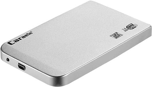 H HILABEE HDD 外付け USB3.0 高速 2.5インチ SATA ハードディスク ポータブル 薄型 カバー付き - 2T