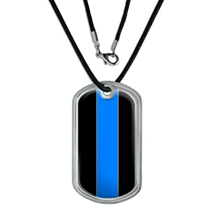Amazon.com  Graphics and More Thin Blue Line Police - Military Dog ... 94c509944e8