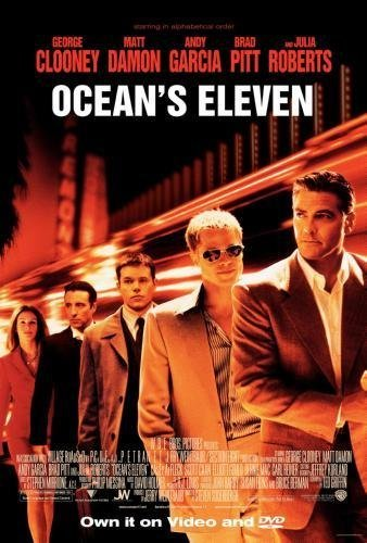 Oceans Eleven Movie Mini Poster #01 11