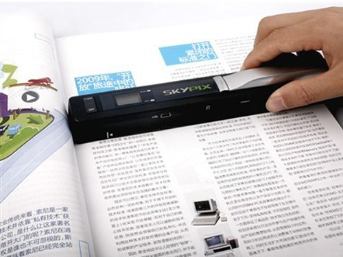 Handy Portable Document and Photo Scanner