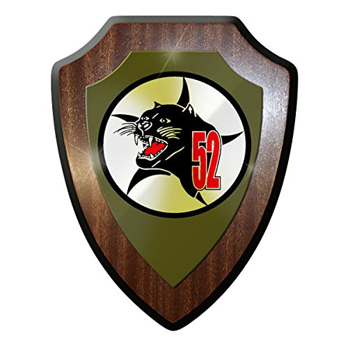 AG52 General Thomsen Barracks reconnaissance squadron Pilot Airborne jet Bundeswehr badge - Escutcheon / Wall Sign
